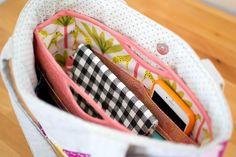 (9) Name: 'Sewing : Handy Purse Organizer - free pattern!