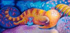 Dan casado коты: 1 тыс изображений найдено в Яндекс.Картинках Cat 2, Outdoor Decor, Painting, Painting Art, Paintings, Painted Canvas, Drawings