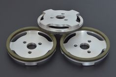 Swift grinding ring.  //  Size(mm): 100-20-16  //  Material: CBN  //  Application: disk knife grinding.