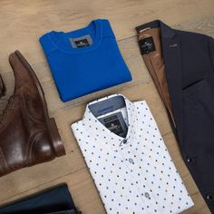Everything you need for a sharp formal look.