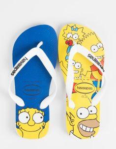 Flip-Flops Havaianas X Simpsons
