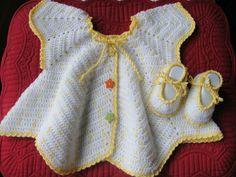 modèle robe fille au crochet - Lilo