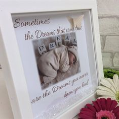 Handcrafted : 010 Dreams Sometimes the dreams that come true are the dreams you never knew you had  This stunning Handcrafted box frame comes complete with clear crystals and a silver 3D butterfly to give it the most perfect finish  PRODUCT PERSONALISATION-ONE PHOTO UPLOAD