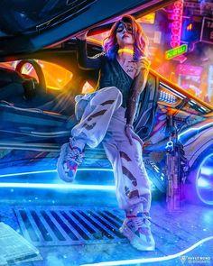Cyberpunk Style Fashion - style Cyberpunk Fashion Source by timplessin - Arte Cyberpunk, Cyberpunk City, Cyberpunk 2077, Moda Cyberpunk, Cyberpunk Aesthetic, Cyberpunk Fashion, Neon Aesthetic, Aesthetic Drawing, Aesthetic Girl