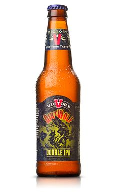 DirtWolf Double IPA - Victory Brewing Company      - One of the Best Beers I have ever had, my thanks to Jay for introducing this to me. I will be buying more!