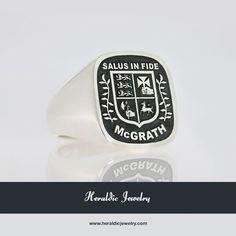 McGrath family crest jewelry