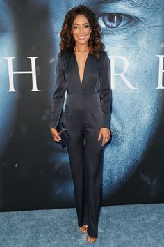 Gina Torres at Game of Thrones Season 7 Premiere in Los Angeles