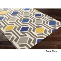 Hand-Tufted Pass Wool Rug (7'6 x 9'6) | Overstock.com Shopping - The Best Deals on 7x9 - 10x14 Rugs