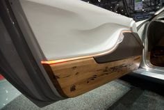 Pininfarina Cambiano Concept at Geneva 2012 Wood from the poles in venice Rear light illuminated from within the car body