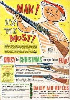a Daisy for Christmas; Daisy Air Rifles; Toy gun
