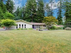Fantastic Close-In Woodinville Acreage (in city limits) ~ Gorgeous light, bright, level 3 acres w/treed perimeter for privacy. A long driveway leads you to this decadent estate setting featuring a fully updated 3000+ asf rambler, huge shop/garage & 5-stall barn. Home feat. granite/stainless kit., updated baths & open floor plan. Property super for equestrian, hobbyist, home business (no CCRs). Lim ...  More Details www.TheCascadeTeam.com