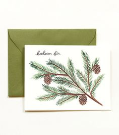 gorgeous and simple holiday card