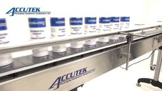 At Accutek Packaging Equipment, we make use of the most modern technology in all our packaging machines and equipment that helps our clients to complete their job of packaging on time.