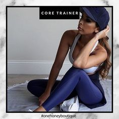 It's never too late to get in shape this year | These Compression Tights in Navy by @coretraineraustralia online now! 💪