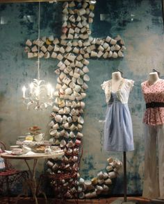 Coffeecup Shapes / 12 Anthropologie Window Looks You Can Steal (And How To Get Them) (via BuzzFeed)