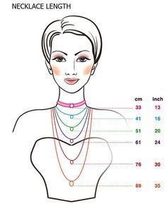 Korujen oikean pituuden mittaaminen aiheuttaa usein päänvaivaa ja on erityisen hankalaa netistä tilattavien korujen kohdalla. Tässä oiva ohje!