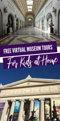 Free Virtual Museum Tours For Kids! Free Virtual Museum Tours For Kids! Free Virtual Museum Tours For Kids! Such a fun and interactiv Virtual Travel, Virtual Art, Virtual Tour, Educational Videos, Educational Activities, Home Learning, Fun Learning, Virtual Museum Tours, Museum Logo