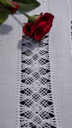 Hand Embroidery Flowers, Drawn Thread, Crochet Borders, Needle Lace, Tatting, Needlework, Quilts, Stitch, Pattern