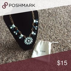 J. Crew Factory Statement Necklace In very good used condition. Comes with the dust bag. J. Crew Factory Jewelry Necklaces