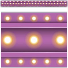 Purple Marquee Straight Border Trim- Use colorful border trim to liven up your classroom! Create fresh looks for bulletin boards, windows, walls, and class projects. Mix and match with coordinating products (stickers, notepads, awards, etc.) for a classroom theme. Each piece is 35'' x 2 3/4''. 35 feet of trim per pack.
