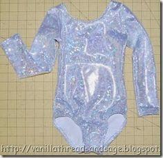 Diy Leotard Tutorial  http://vanillathreadsandsage.blogspot.com/