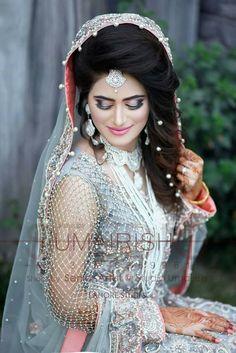Wedding Looks, Bridal Looks, Bridal Style, Bridal Photoshoot, Bridal Shoot, Bridle Dress, Pakistan Bride, Mehndi Dress, Bridal Makeover