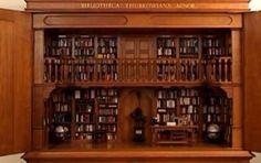 In Museum Meermanno in Den Haag is een bibliotheek te zien, waarbij je in één oogopslag honderden boeken kunt zien: de Bibliotheca Thurkowiana Minor, een miniatuurbibliotheek met 1515 miniboekjes van Guus Thurkow (1942-2011). In de kasten echte boeken op miniformaat.