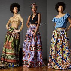 New Maxi Skirts • www.chenburkett.com #CBNYspring16