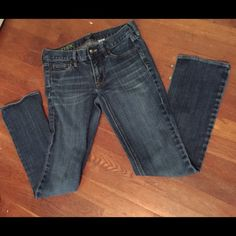 J. Crew matchstick jeans Size 26S. Minor signs of wear, but so much life left in them! J. Crew matchstick jeans J. Crew Jeans Straight Leg