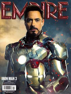 Will Robert Downey Jr. be Tony Stark in Iron Man Empire cover. I'm pretty sure the Avengers will keep him busy enough! << how could ANYONE ELSE be Iron Man? Robert Downey Jr., Iron Man Film, Marvel Universe, Lego Universe, Iron Man 3 Poster, Les Innocents, Man In Black, Film D'action, Pepper Potts