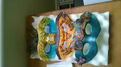 Sugar Masks made for a special cake