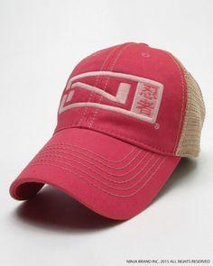 94bc403c91956 N-Logo Kanji Trucker Hat Ninja Logo