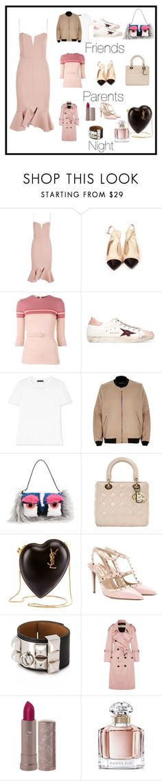 """Dress"" by olyachallenger ❤ liked on Polyvore featuring Nicholas, Chanel, Miu Miu, Golden Goose, The Row, River Island, Fendi, Christian Dior, Yves Saint Laurent and Valentino"