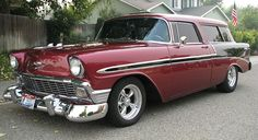 Spud's Garage - 1956 Chevy Nomad Wagon