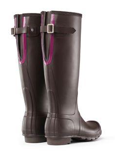 Original Bicolor Back Adjustable Rain Boots | Hunter Boot Ltd -Got It!!!