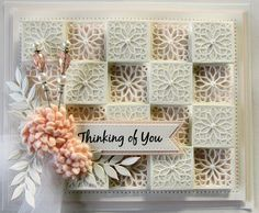 PartiCraft (Participate In Craft): Staggered Square Checker Fun Fold Cards, Folded Cards, Card Making Inspiration, Making Ideas, Tattered Lace Cards, Spellbinders Cards, Shaped Cards, Card Tags, Creative Cards