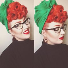 GORGEOUS Vintage Hair Inspiration #Regrammed via @freyavintage