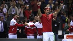 Davis Cup - Articles - Federer finishes off plucky Dutch in quick time