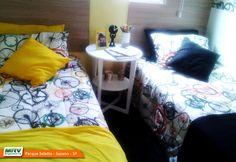 Apartamento decorado 2 dormitórios do Parque Seletto no bairro Casa Branca - Suzano - SP- MRV Engenharia - Quarto