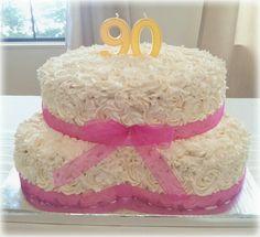Grandmas 90th birthday cake.
