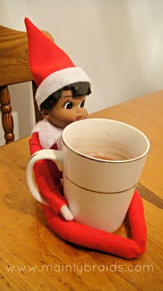 mainly braids: Elf on the Shelf days 3-7
