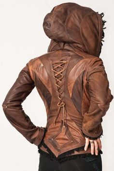 Info Size Chart The Victory jacket s graceful design features V-shaped  detailing across the back 3c2bca9411