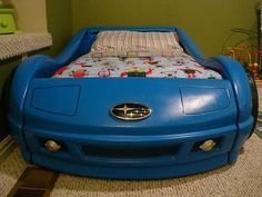 cant wait till molly is in her car bed lol awesome my lil racing queen