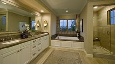 Master Bathroom- warm, neutral colors