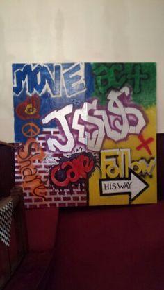 "G•Force VBS decorations graffiti ""skate wall"""
