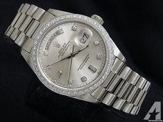 Rolex Day-date Diamond President Wg