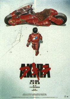 "Akira (1988) First a comic book, then a movie, and finally a cult! Even though it's greatly different from the raw material, it perfectly depicts the ""sons of the atom"", the generations that came after the nuclear bombing, and a distopic future in which a new society must born....unfortunately our society didn't do the same thing!"