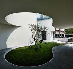 Centro de Recepção Wanhua,© K. M. Lee