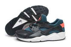 pretty nice 7ab02 22961 Nike Air Huarache Black Hyper Crimson Space Blue White Black Huarache, Nike  Air Huarache,