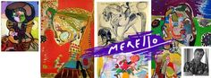 JUICE OF COLORS...ZUMO DE COLORES.  Jose Manuel Merello.- Pinturas y dibujos.   ARTE ACTUAL. http://www.merello.com